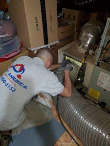 Connecting Negative Air Pressure
